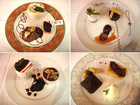 Troph es 2007 page 7 la pr sentation des desserts sur - Decoration assiette dessert ...
